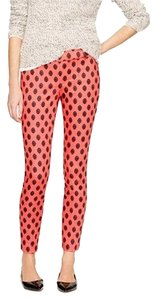 J.Crew Capri/Cropped Pants Bohemian Red