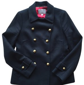 Banana Republic Double Breasted Cropped Pea Coat