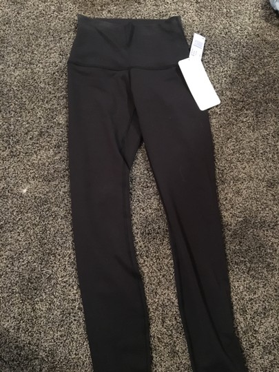 761f8c61699490 Lululemon Wunder Under Crop (hi-rise) *full-on Luon Black Leggings ...