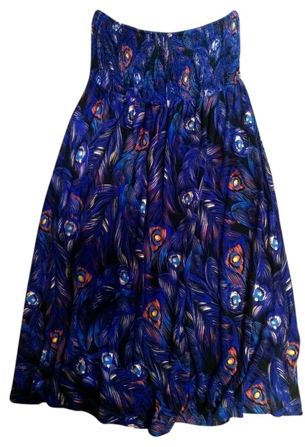 Preload https://item4.tradesy.com/images/h-and-m-dress-peacock-print-1313498-0-0.jpg?width=400&height=650