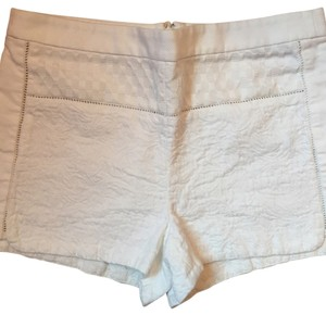 J.Crew J. Crew Summer 0 Mini/Short Shorts White