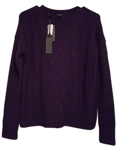 Buffalo David Bitton Cozy Knit Crew Neck Hand Wash Longoing Sleeve Sequined Elbow Sweater
