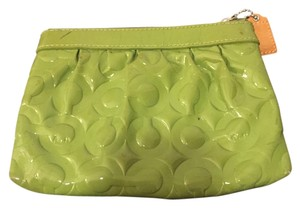 Coach Wear With Anything Wristlet in Green