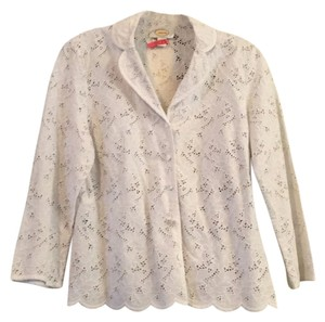Talbots Button Down Shirt White