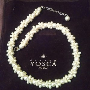 Gerard Yosca Exquisite Pearl Necklace