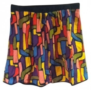 mark. Skirt Multi/Black