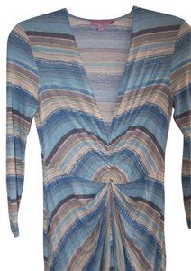 Calypso St. Barth short dress Blue Multi on Tradesy