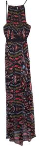 Multi color Maxi Dress by Twelfth St. by Cynthia Vincent Silk Maxi Street