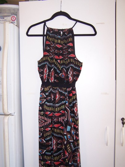 Twelfth St. by Cynthia Vincent Multi Color 12th St Silk Maxi Maxi Dress 60%OFF