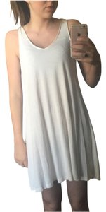 H&M short dress Ivory on Tradesy