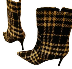 Burberry PLAID BLACK AND WHITE Boots