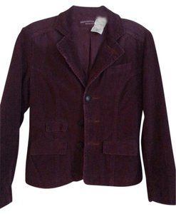 Paper Denim & Cloth burgandy Blazer