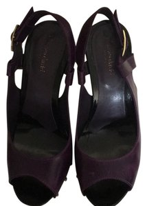 Charles David Purple/gold Platforms