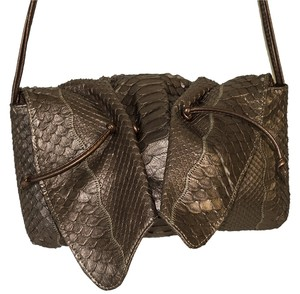 Carlos Falchi Falchi Snake Python Cross Body Bag