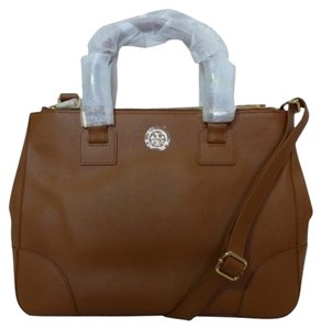 Tory Burch Satchel in Luggage (229)