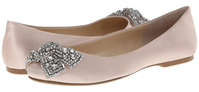 Item - Champagne By Ever Satin M Flats Size US 9.5