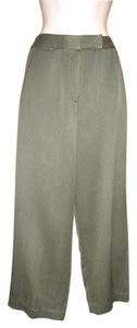 Tommy Bahama Silk Cropped Capri/Cropped Pants Forest Green