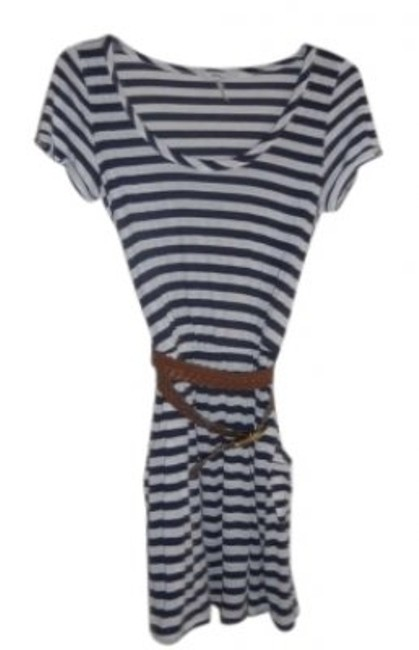 Preload https://item1.tradesy.com/images/kirra-blue-and-white-stripe-above-knee-short-casual-dress-size-8-m-131380-0-0.jpg?width=400&height=650