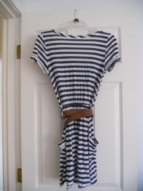 Kirra short dress Blue and white stripe on Tradesy