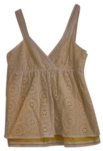 Cynthia Steffe Top White/yellow