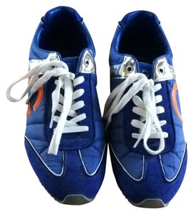 Guess Royal blue with silver and orange accents Athletic