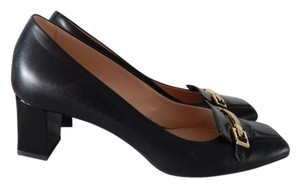 Tod's Leather Loafer black Pumps
