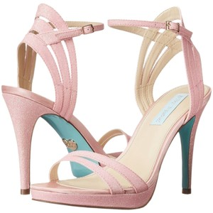 Betsey Johnson Blue By pink Sandals