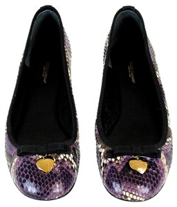 Dolce&Gabbana Dolce And Gabbana D&g Purple Multicolor Flats