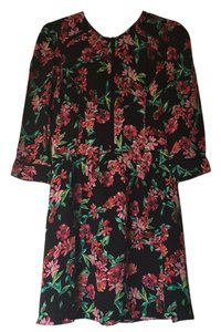 Dolce Vita short dress Floral Print on Tradesy