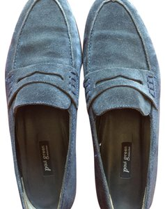 Paul Green Blue Suede Flats