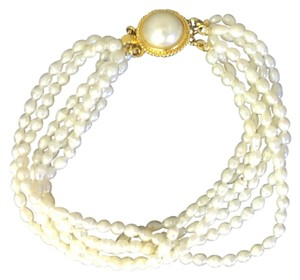 Pearl Bridal Collection Authentic Genuine Pearl Bracelet: check out necklace that matches !