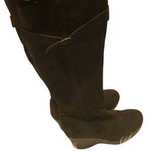 Barneys New York Army green Boots
