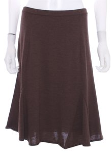 M Missoni Knit Elastic Italy Dress Skirt Brown
