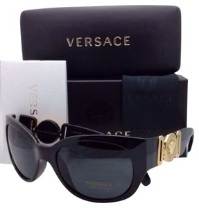 Versace New Notorious B.I.G. ICONIC ARCHIVE EDITION VERSACE Sunglasses VE 4265 GB1/87 Black Frame w/ Grey Lenses