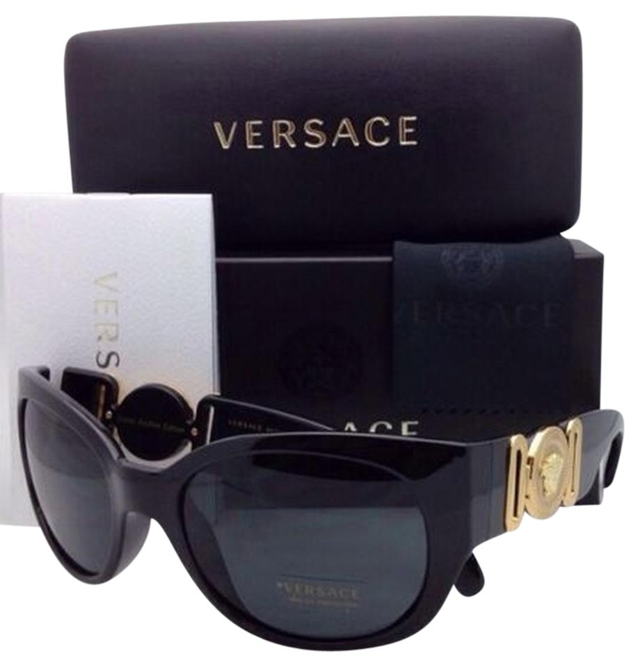 3b3b0318c70 Versace New Notorious B.I.G. ICONIC ARCHIVE EDITION VERSACE Sunglasses VE  4265 GB1 87 Black Frame ...