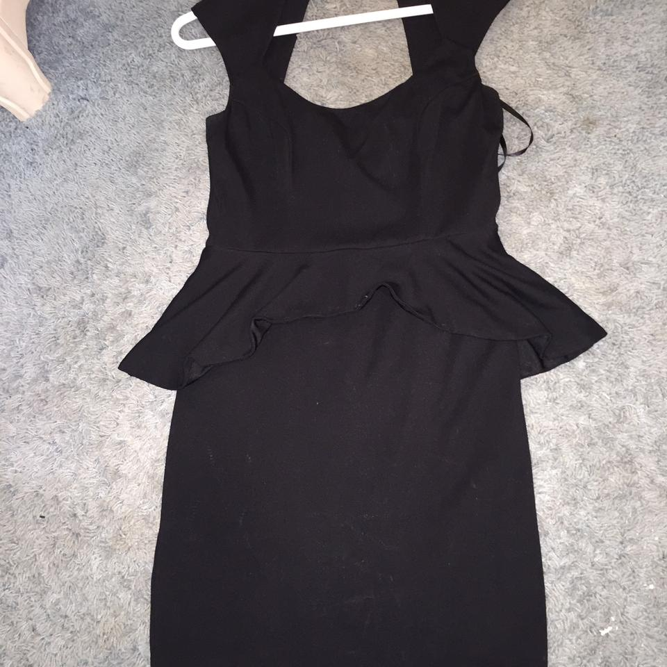 bebe Black Knee Length Cocktail Dress Size 10 (M) - Tradesy