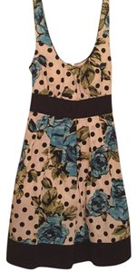 City Triangles short dress White Floral on Tradesy