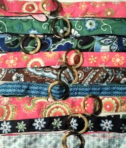26 Multi Color Fabric Belts