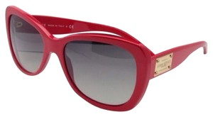 Versace New VERSACE Sunglasses VE 4250 256/11 57-18 Red Frame w/ Grey Gradient lenses