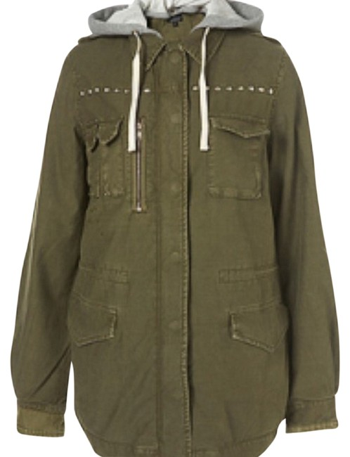 Item - Army Green Coat Size 6 (S)