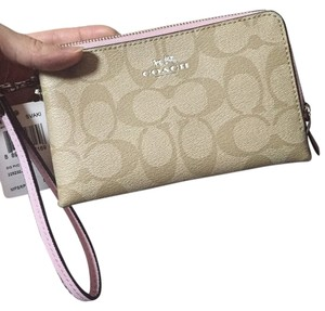Coach Coach Double Zip Wristlet 64131