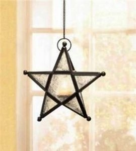 Black Lot Of 5 Hanging Star Candle Lanterns Wholesale Hanging Lanterns Wholesale Star Lanterns Free Shipping More Reception Decoration