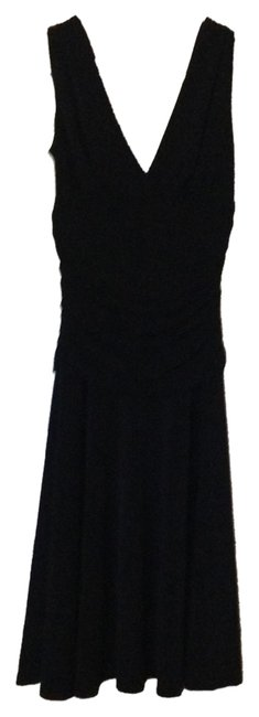 Arden B. V-neck Polyester V-back Dress
