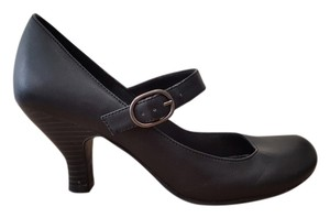 Buckle Mary Jane Black Formal