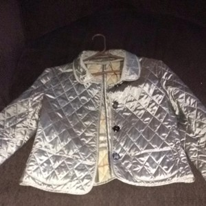 Burberry Grey/silver Jacket