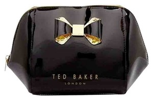 Ted Baker TED BAKER TED BAKER Large 3 Black 3pink Bundle Order For Sarah Husseini Trapeze Glitter Bow Cosmetic Case