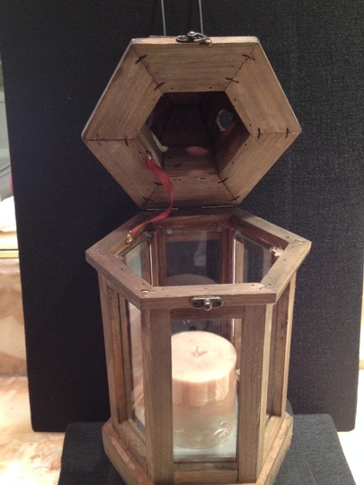 Other Candle Lamp; Rustic Chic Scented Candle Lamp - [ Roxanne Anjou Closet ]