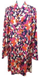 Diane von Furstenberg short dress MULTICOLOR Stretchy Silk on Tradesy