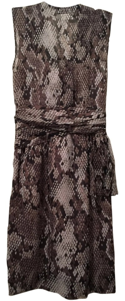 4253949e4591 Moschino Leopard Cheap and Chic Knee Length Cocktail Dress Size 2 ...