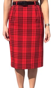 Dior Skirt Red/Black
